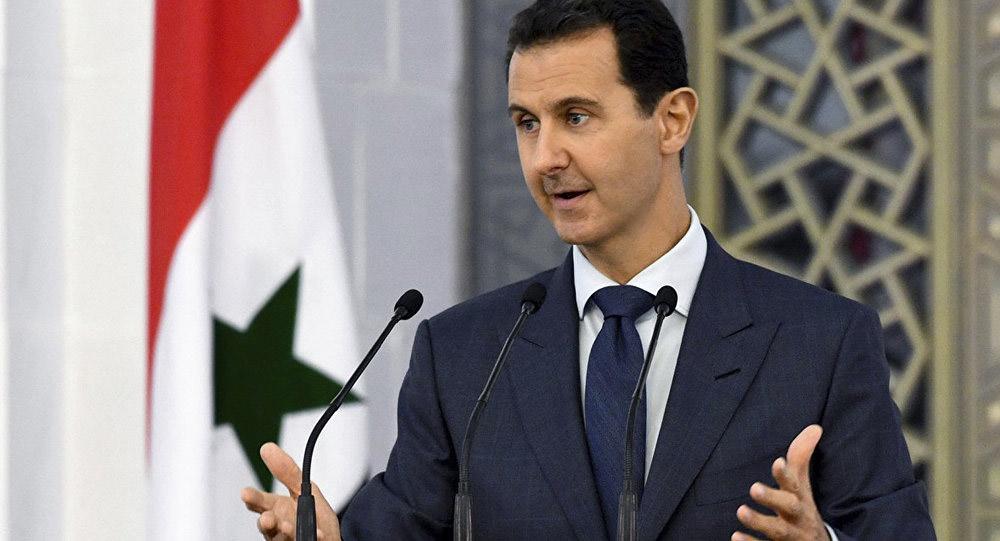Президент Сирии Башар Хафез Асад