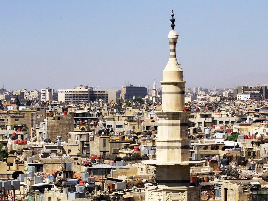 Дамаск. Столица Сирии