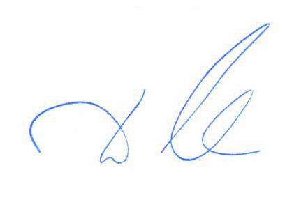 Подпись министра Мантурова Д.В.