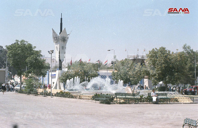 Дамасская международная выставка 1991 года. Из архивов агентства САНА