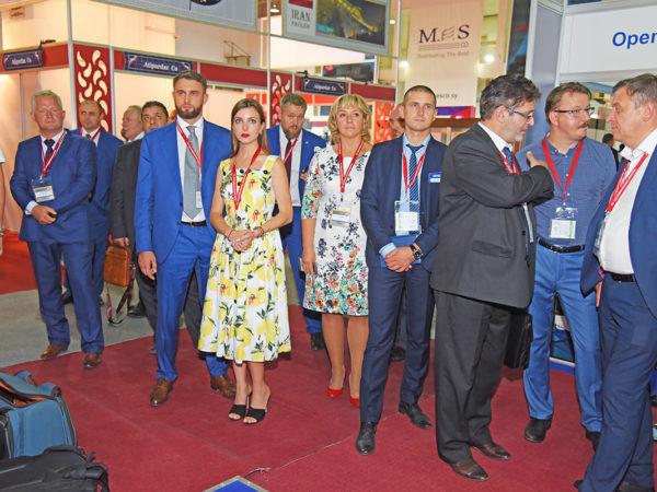 Российская экспозиция на 60-й Дамасской ярмарке 2018