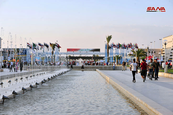 Третий день 60-й Дамасской международной выставки