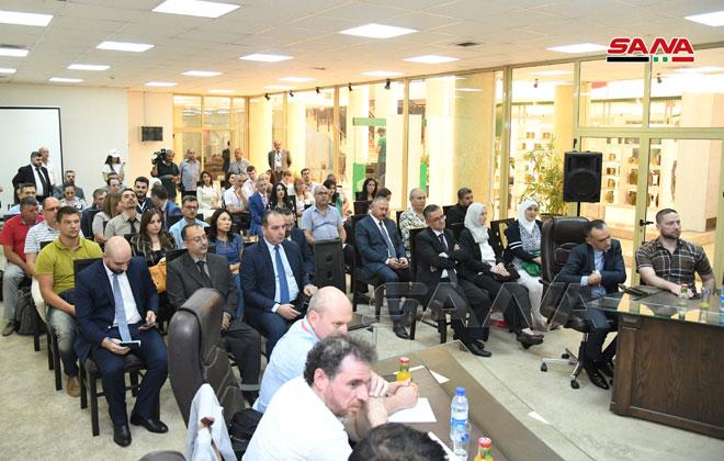 4-й день 61-й Дамасской международной выставки