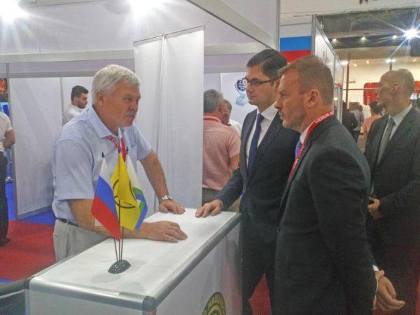 Российская экспозиция на 61-й Дамасской ярмарке 2019