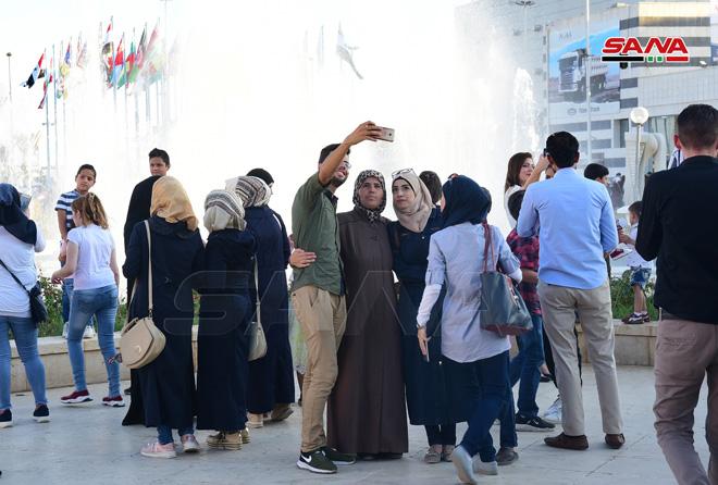 Третий день 61-й Дамасской международной выставки 2019